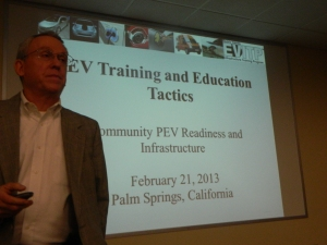 Bernie KotlierNational Co-ChairElectric Vehicle Infrastructure Training Program (EVITP)