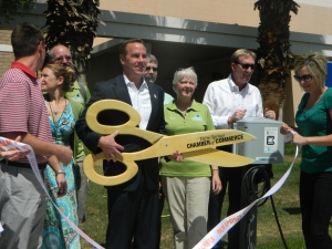 Grand opening of one of the 10 new Electric Vehicle (EV) Charging Station in Palm Springs.